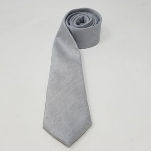 Ted Baker London Silver Skinny Mens Tie One Size